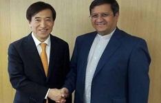 همتی خواستار تسریع در حل مشکلات بانکی ایران و کره جنوبی شد